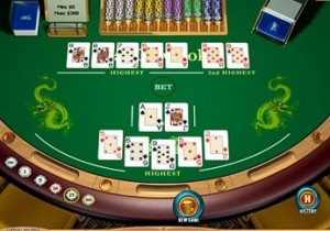 Casinopoker, poker, hold'em